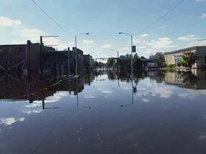 Flood waters begin to recede in Windsor