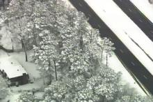 Sky 5 tours the snow