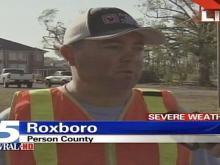roxboro fire chief