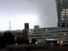 A look at damage in downtown Raleigh