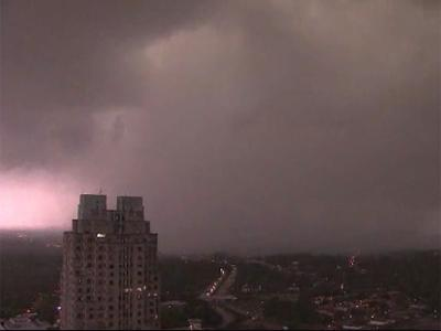 Tornado in downtown Raleigh