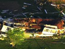 Sky 5: Sanford area storm damage