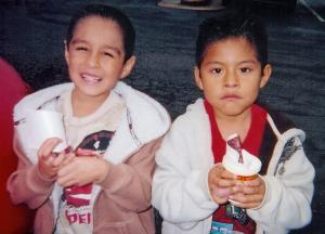 Cousins Daniel Quistian-Nino and Osvaldo Coronado-Nino