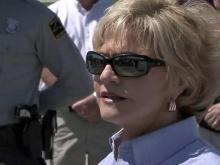 Perdue hears storm victims' survival stories