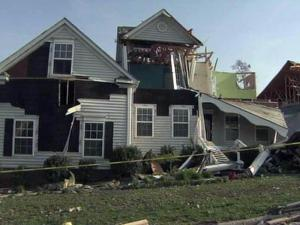 About a dozen homes on Serendipity Drive in northeast Raleigh were damaged in an April 16, 2011, storm.