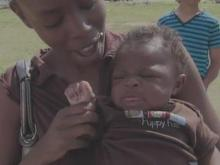 Dunn baby survives tornado