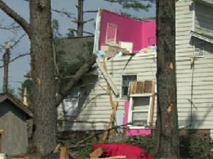 The St. Andrews neighborhood in Sanford sustained massive property damage from storms on April 16, 2011.
