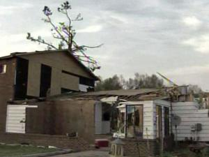 The Raynor home in the Cumberland County community of Linden was not spared by the widespread damage from tornadoes that struck the region Saturday, but their house and possessions were the last things on family members' minds.