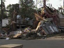 Twenty-seven homes in the Stony Brook North mobile home park in Raleigh were destroyed in an April 16, 2011, tornado, and another 25 were too badly damaged to live in.