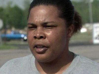 Lauresa Lassiter, of Micro, survived a tornado on April 16, 2011.