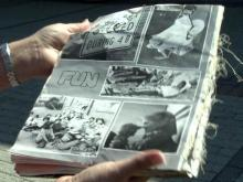 Cary workers recover yearbook for Sanford tornado victim