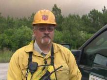 Wildfires rage, create haze in NC