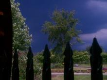 Viewer-submitted photo of the sky in Durham on Tuesday, June 28, 2011, as thunderstorms roll in.