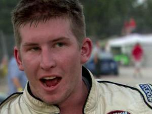 Driver Richard Arch was among competitors sweating it out Friday night at Wake County Speedway.