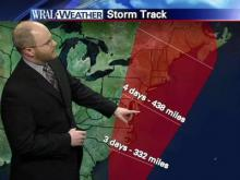 Web Weather Extra: Cone of uncertainty