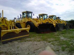 Heavy equipment, NC DOT, Hurricane Irene
