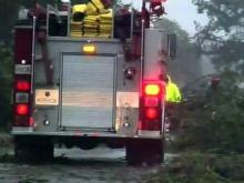Kinston damage from Irene