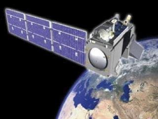 The NPP satellite, scheduled for launch Friday, Oct 28, 2011.