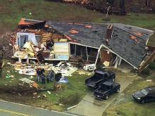Sky 5: Davidson County tornado damage