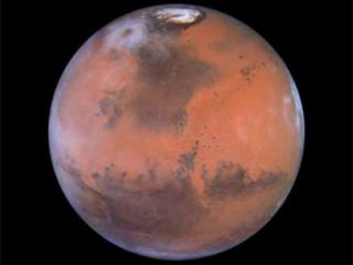 Mars (credit NASA/Hubble STSI)