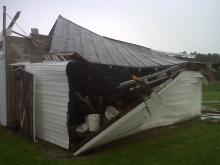 Pitt County storm damage (photo courtesy of WNCT)