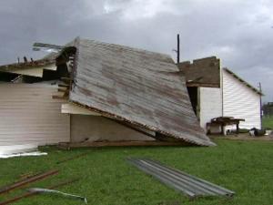 Stokes storm damage
