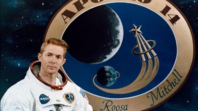 Apollo 14 Command Module Pilot Stuart A. Roosa (Credit: NASA)