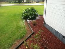 Viewer video: Hail Storm in Dunn, NC