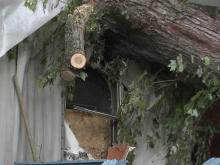 Friday storms damage Hillsborough home