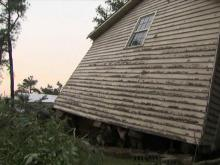 Storm victims count blessings after close calls in Nash County