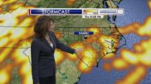 IMAGES: Pesky cold front keeps showers in forecast Thursday