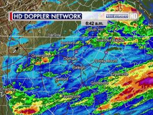 rainfall totals Friday