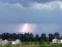 Lightning in Spring Lake