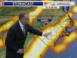 Stormcast severity forecast for Aug. 10, 2012