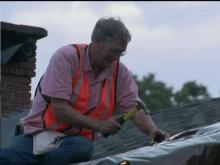 Stantonsburg residents work on repairs after severe storms.