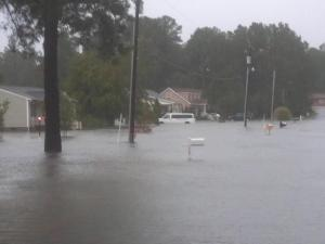At least 15 roads in the Roanoke Rapids area have become impassable after flash floods swept through the city Saturday morning, following an hour or more of heavy rainfall, according to a Halifax County official.