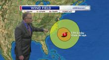 IMAGES: Rain, winds from Sandy will be felt in NC