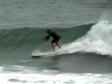 Surfers find Sandy-driven waves to liking