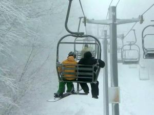 Early snow gives western NC skiers Halloween treat