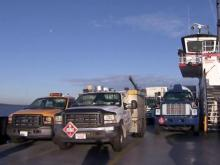 Long ferry lines frustrating for some