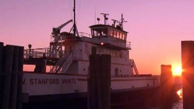 A state-operated ferry has been making several trips between Stumpy Point and Rodanthe since Oct. 30, 2012, to deliver supplies to Hatteras Island in the wake of Hurricane Sandy and allow residents on the island to check their properties.