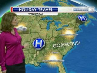 Holiday Travel forecast for Nov. 21, 2012.