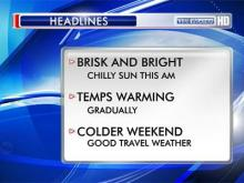 Weather headlines for Wednesday, Nov. 21, 2012.