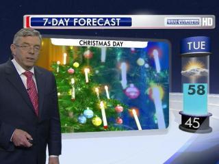Christmas Day 2012 forecast