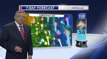 IMAGE: Weekend sunshine will give way to gray Christmas