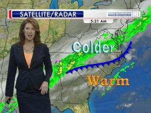 Cold front, Jan. 15, 2013