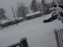 Snowfall in Roanoke Rapids