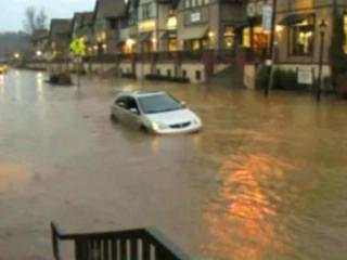 Strong to severe thunderstorms that marched across North Carolina Wednesday caused widespread flooding in western parts of the state, including Asheville.