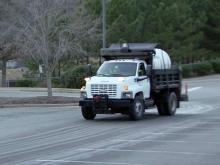 Cary road crews prep for wintry mix
