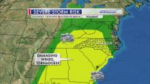 IMAGES: Showers, storms to cross NC Friday